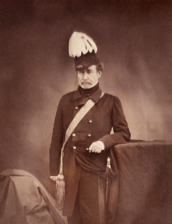Roger Fenton (1819-69) 'Sir Colin Campbell' 1855