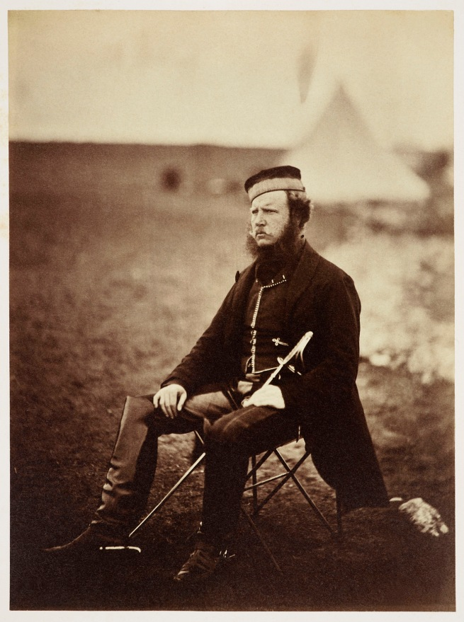 Roger Fenton (1819-69) 'Sir John Miller Adye (1819-1900)' 1855