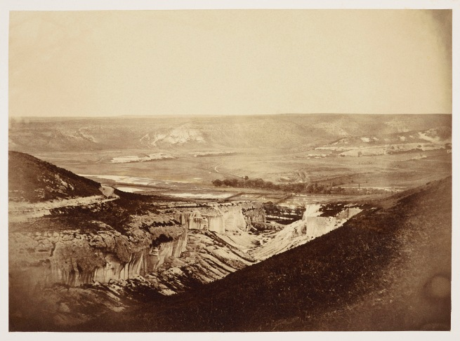 Roger Fenton (1819-69) 'The Quarries and Aqueduct in the Valley of Inkerman' May 1855