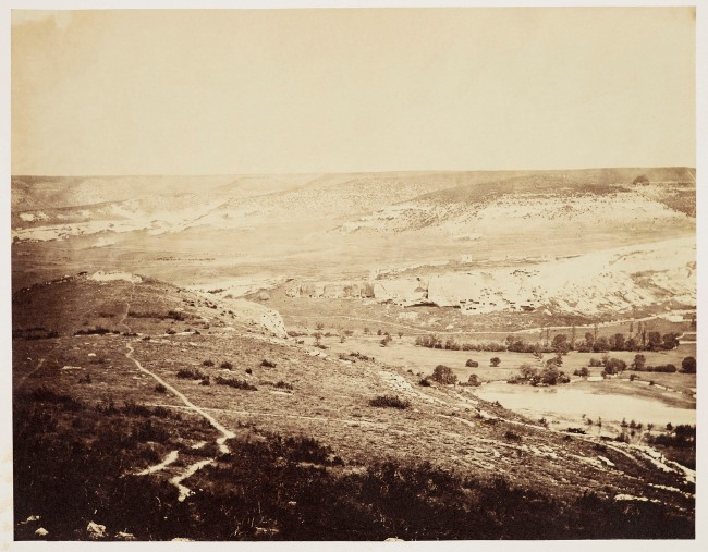 Roger Fenton (1819-69) 'The Ruins of Inkerman' May 1855