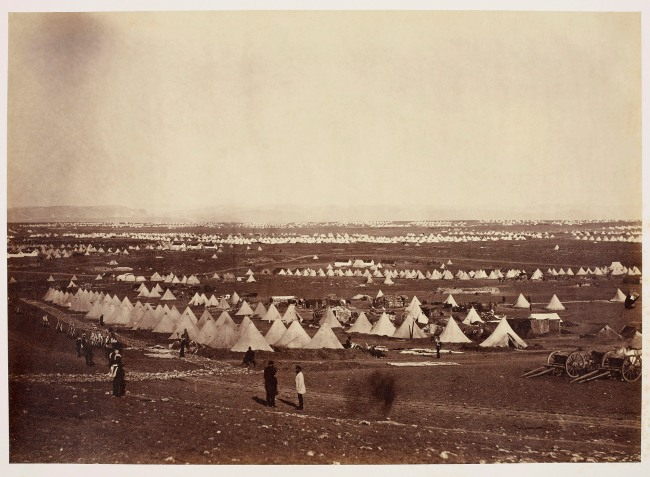 Roger Fenton (1819-69) 'View from Cathcart's Hill' 1855