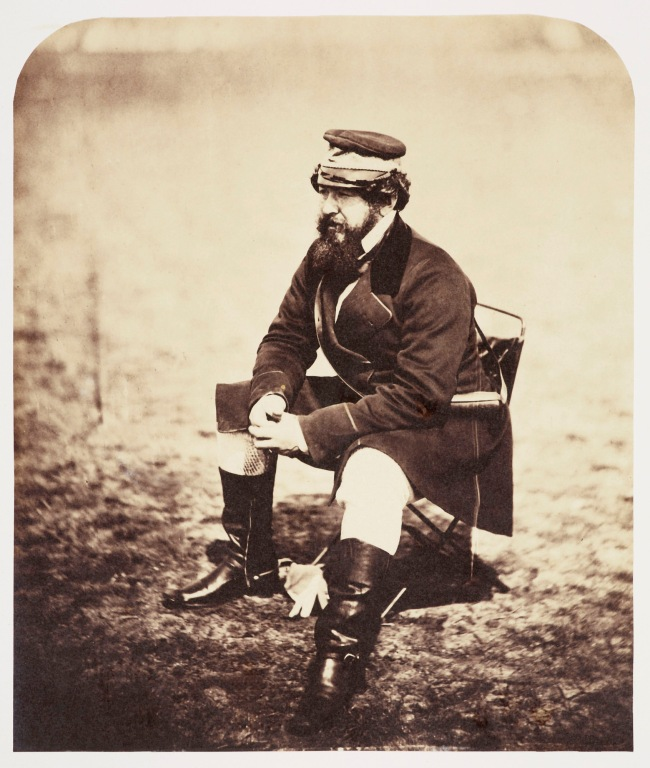 Roger Fenton (1819-69) 'Sir William Howard Russell (1820-1907)' Jun 1855