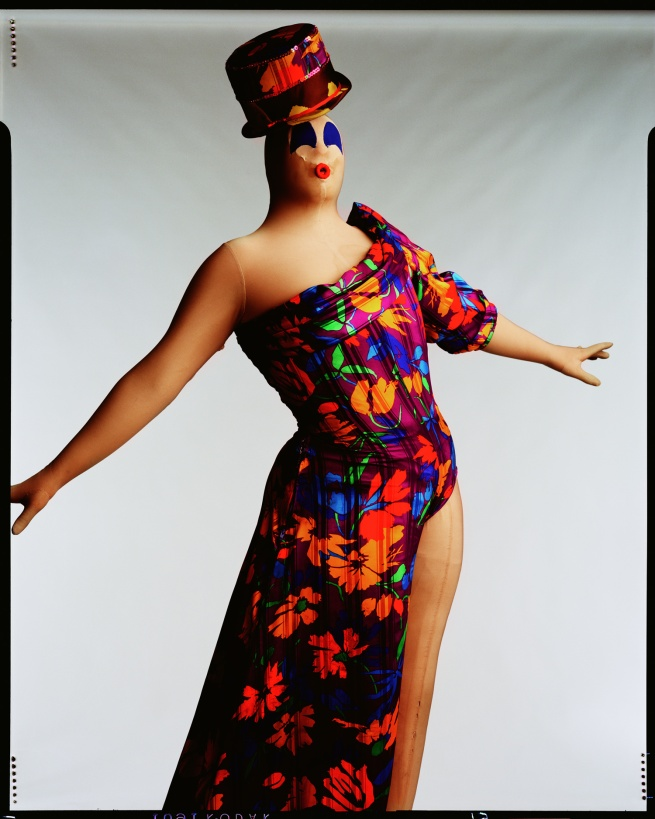 Fergus Greer (United Kingdom, 1961-) 'Leigh Bowery, Session V' Look 27 February 1992