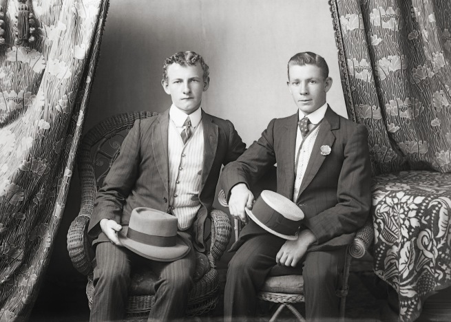 Gregory Collection. 'Mr Cullen & Mr Gornall' Date unknown