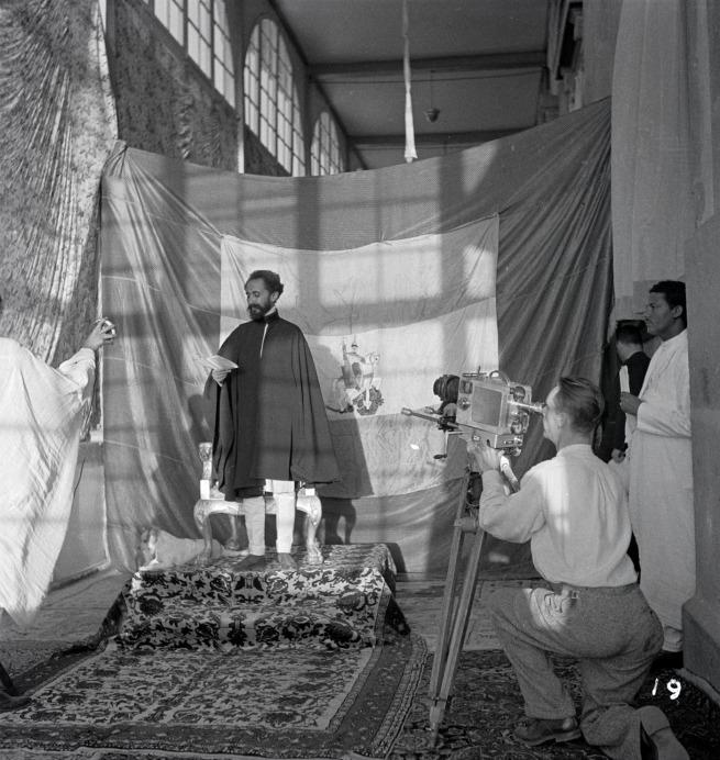 Walter Mittelholzer. 'Kaiser Haile Selassie, Addis Abeba' c. 1934
