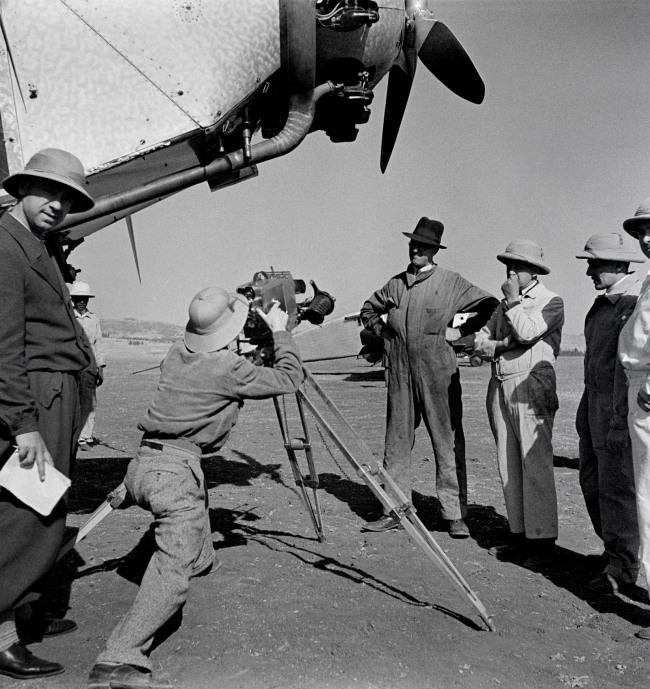 Walter Mittelholzer. 'Flugplatz in Addis Abeba [Airfield in Addis Ababa]' c. 1934