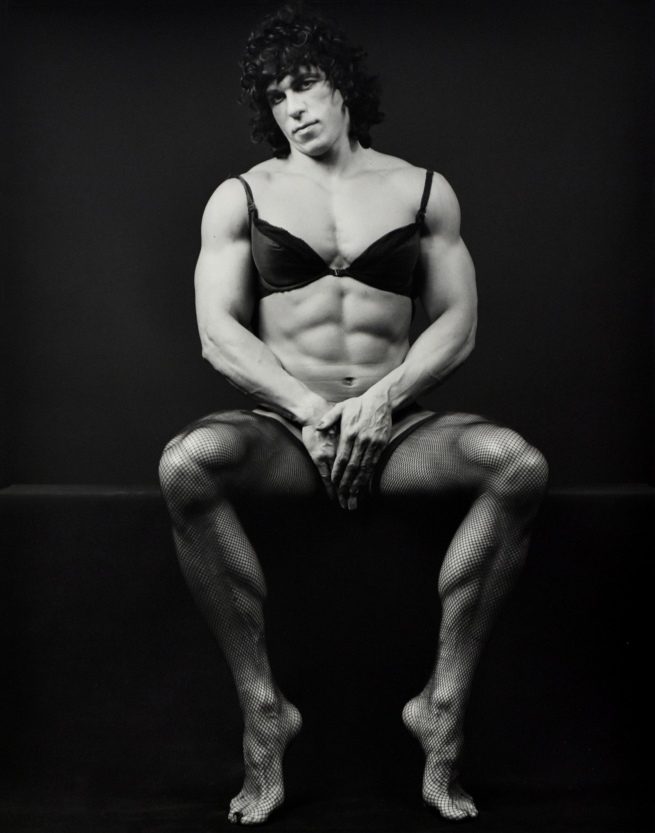 "Robert Mapplethorpe (United States, 1946-1989) 'Roger Koch aka Frank Vickers: From the ""Roger"" Series' 1983"
