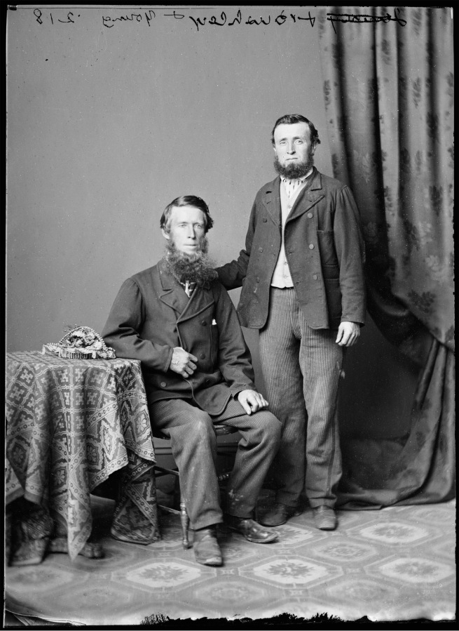 American & Australian Photographic Company (Beaufoy Merlin & Charles Bayliss) 'Mssrs. Bushley & Young' Nd