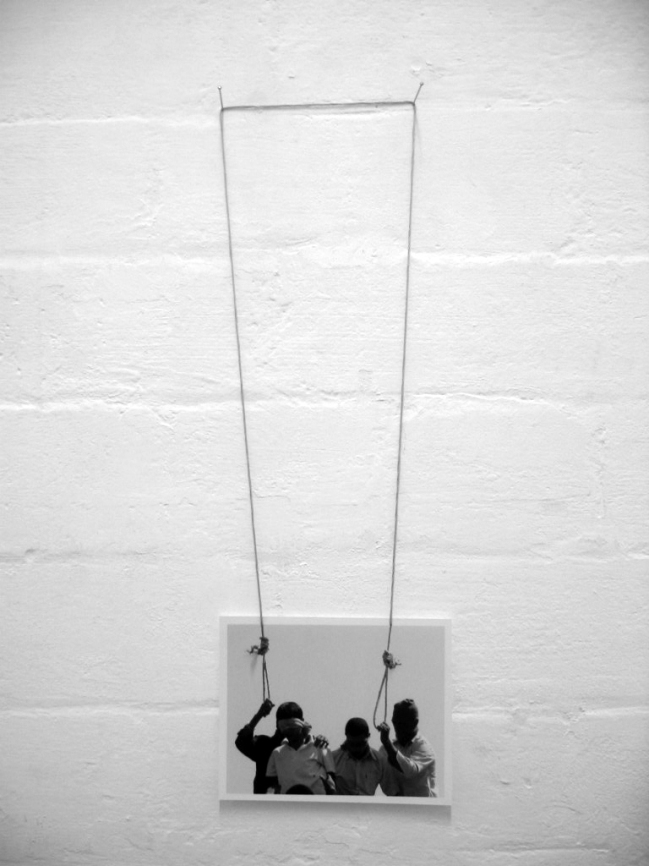 Luke Parker (Australia 1975-) 'Double hanging' 2005