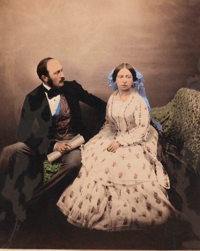 Roger Fenton (1819-69) 'Queen Victoria and Prince Albert' 1854