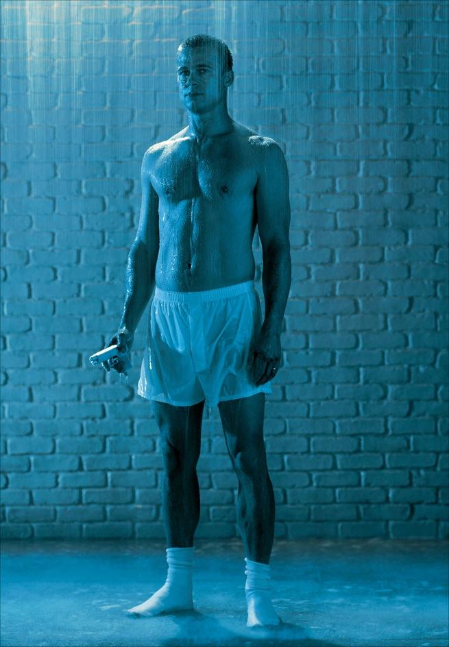 Robert Wilson (United States, 1941-) 'Brad Pitt'  2004