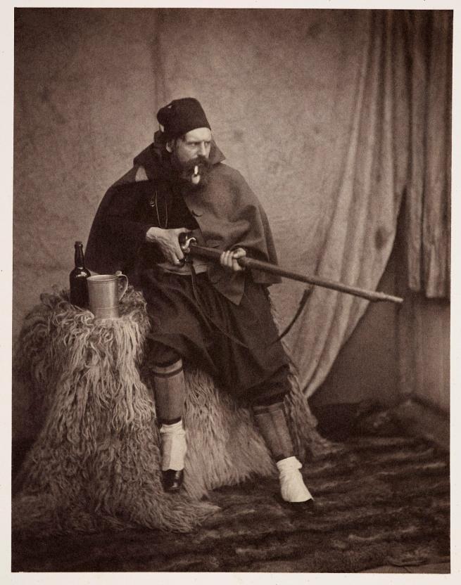 Roger Fenton (1819-69) 'A Zouave' 1855