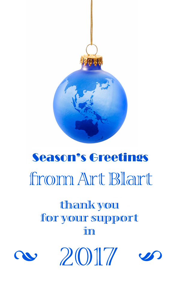 Art Blart Christmas 2017