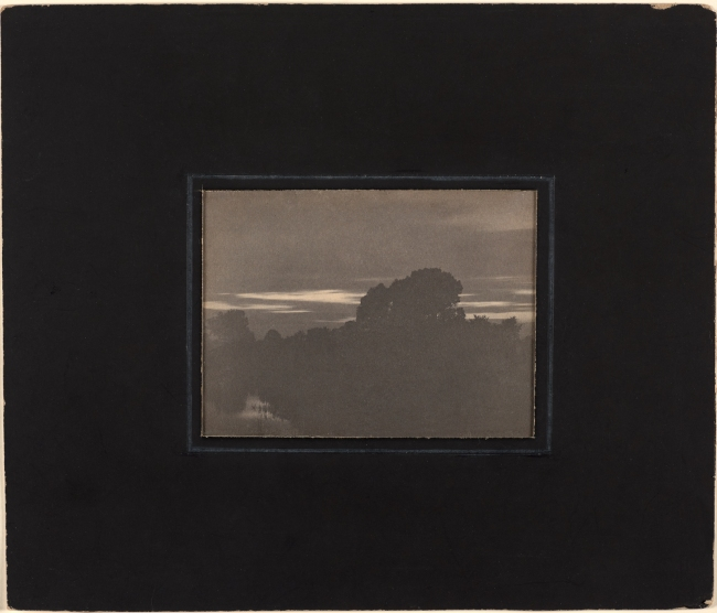 Clarence H. White (American, 1871-1925) 'A Rift in the Clouds' 1896