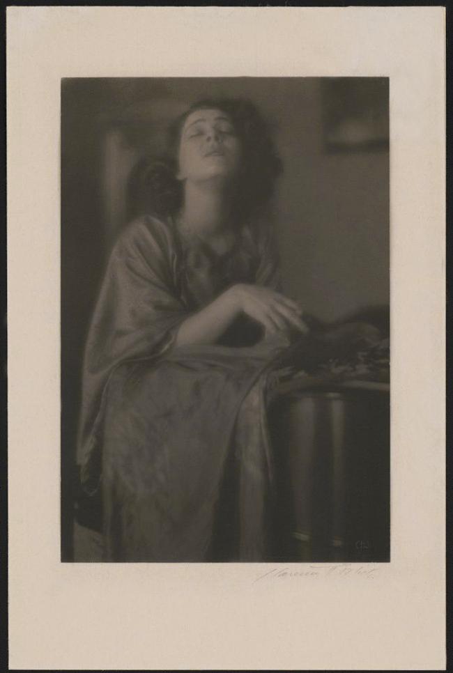 Clarence H. White (American, 1871-1925) 'Alla Nazimova' 1919