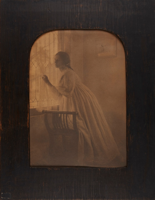 Clarence H. White (American, 1871-1925) 'At the Window' 1896, printed 1897
