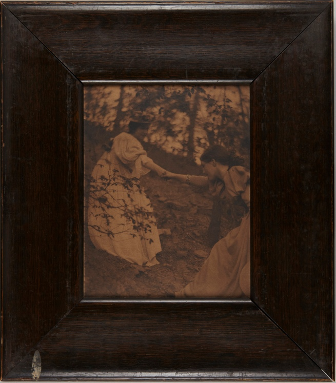 Clarence H. White (American, 1871-1925) 'Climbing the Hill' 1897
