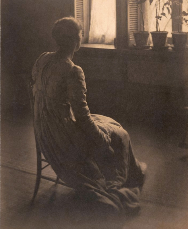 Clarence H. White (American, 1871-1925) 'Evening Interior' c. 1899