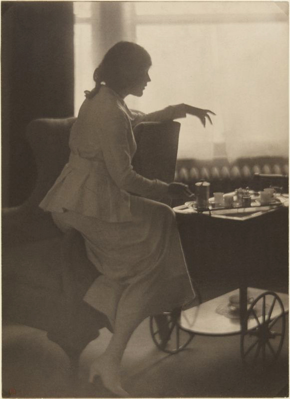 Clarence H. White (American, 1871-1925) 'Mae Murray' c. 1919-20