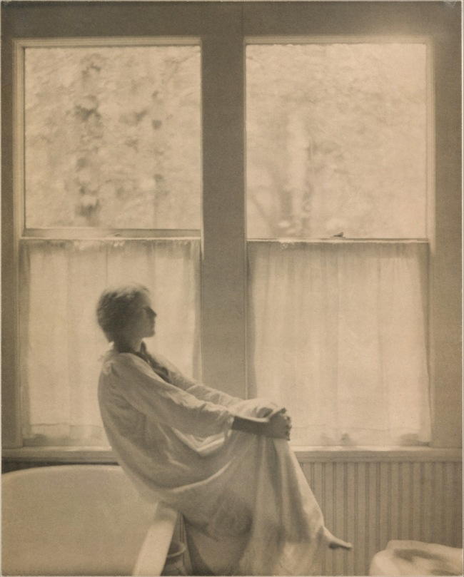 Clarence H. White (1871-1925) 'Morning - The Bathroom' 1906