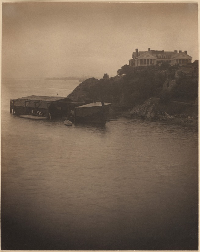 "Clarence H. White (American, 1871-1925) ""Newport the Maligned"" 1907"