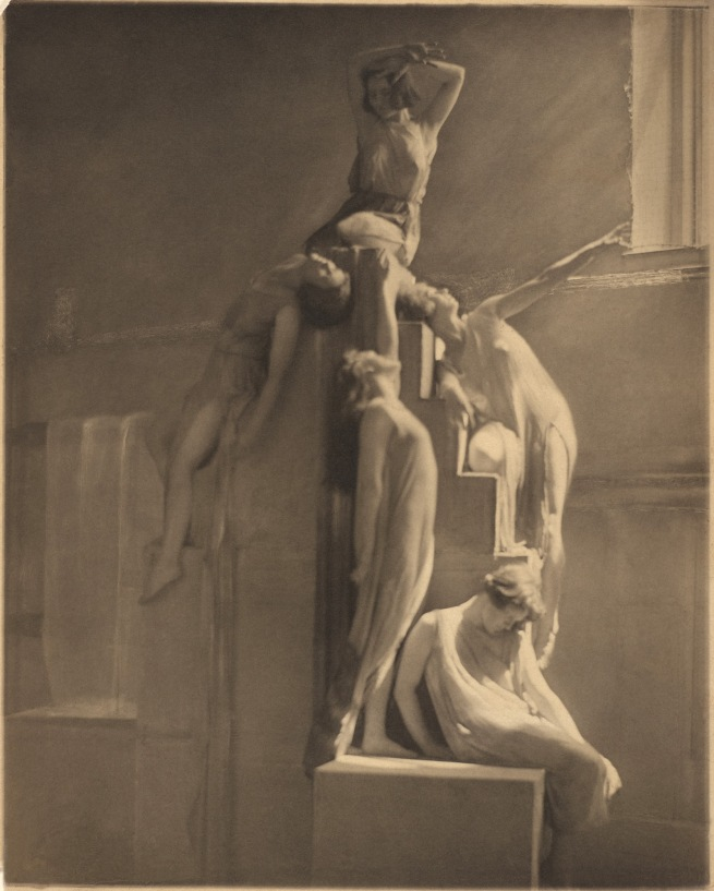 Clarence H. White (American, 1871-1925) 'The Dancers - Barnard Greek Games' 1922