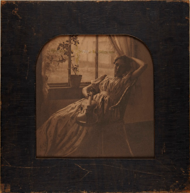 Clarence H. White (American, 1871-1925) 'The Girl with the Violin' 1897