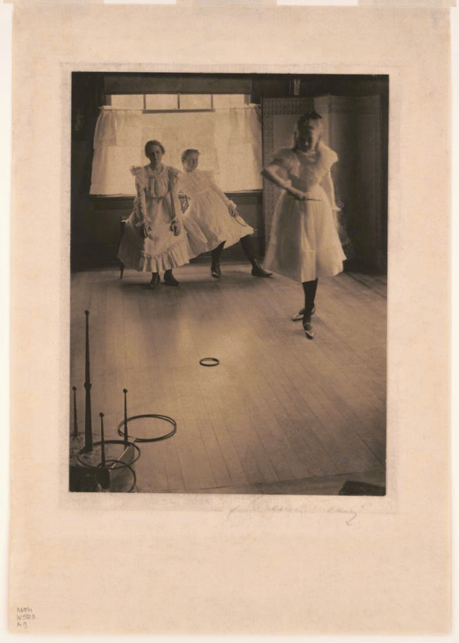 Clarence H. White (American, 1871-1925) 'The Ring Toss' 1899