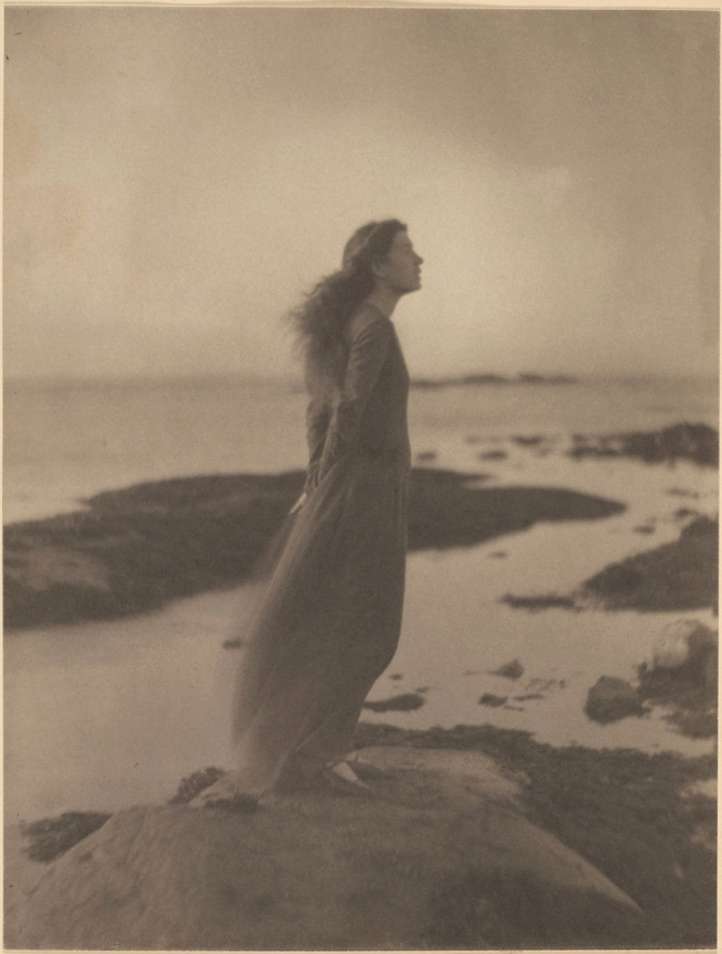 Clarence H. White (1871-1925) 'The Sea (Rose Pastor Stokes, Caritas Island, Connecticut)' 1909
