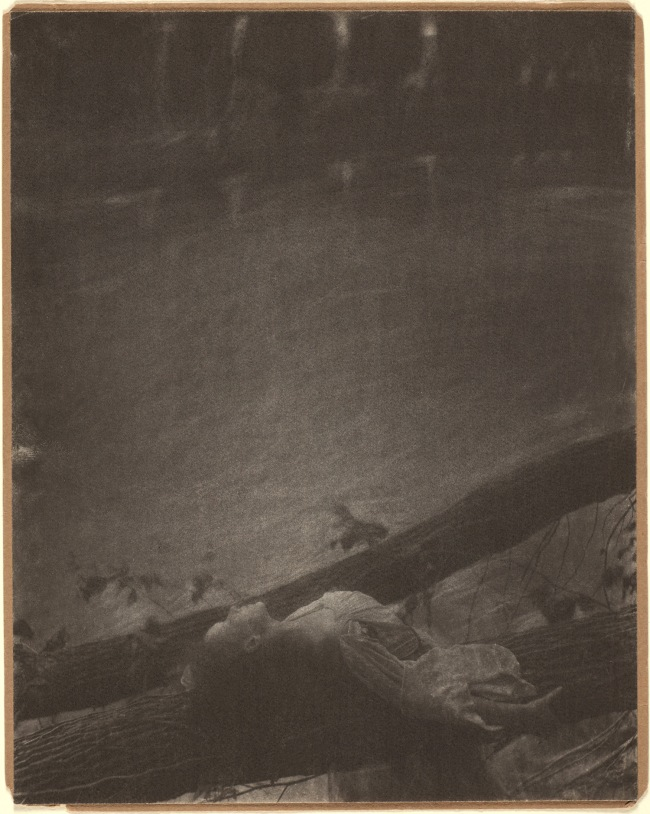 Clarence H. White (1871-1925) 'Untitled [Jean Reynolds in Newark, Ohio]' c. 1905