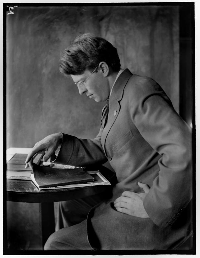 Gertrude Käsebier (1852 - 1934) 'Portrait of Clarence H. White' c. 1910