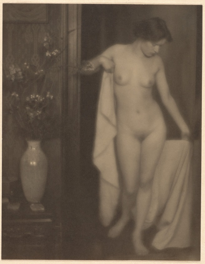 Alfred Stieglitz (American, 1864-1946) and Clarence H. White (American, 1871-1925) 'Untitled [Miss Thompson]' 1907