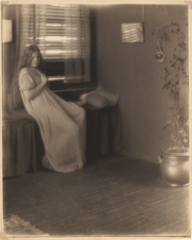 Clarence H. White (American,  1871-1925) and Paul Burty Haviland (French, 1880-1950) 'Untitled [Florence Peterson]' 1909, printed after 1917