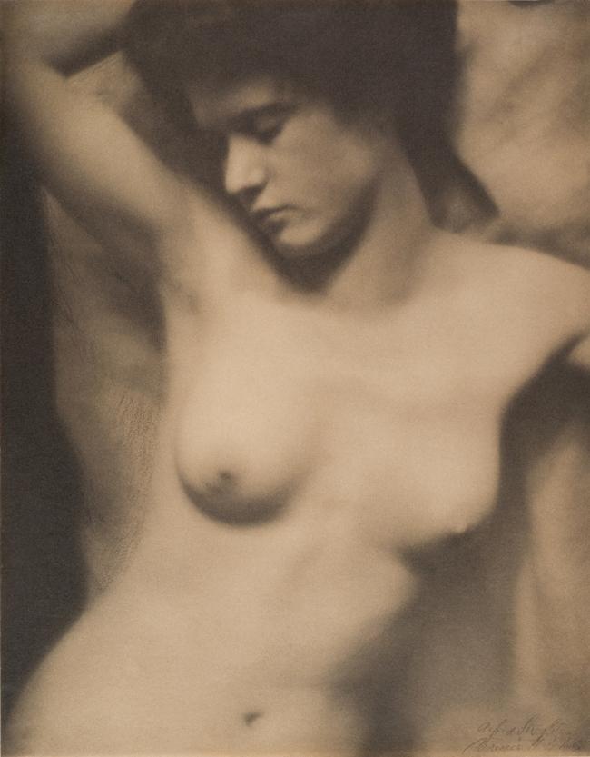Alfred Stieglitz (American, 1864-1946) andClarence H. White (American, 1871-1925) 'Torso' 1907