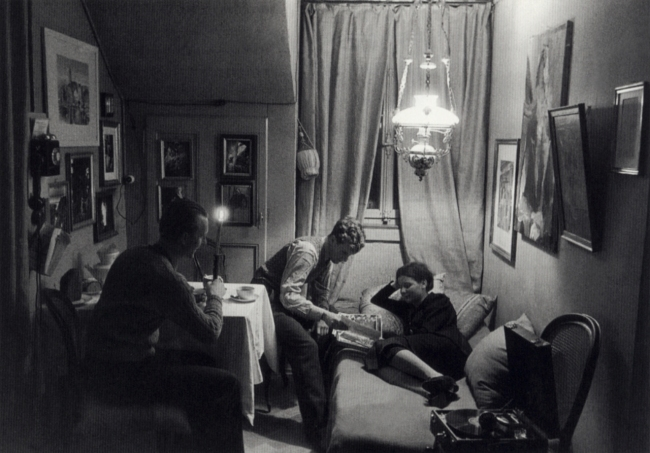 Jakob Tuggener(1904-1988) 'Budenzauber (Charm of the Attic Room) Jakob Tuggener with friends' 1935