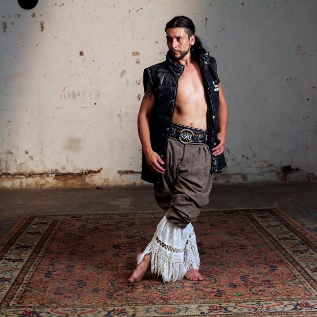 Gustavo Di Mario (Argentine, born 1969) 'Malambistas IV' / 'Malambo Dancers IV' Negative 2014, print 2016