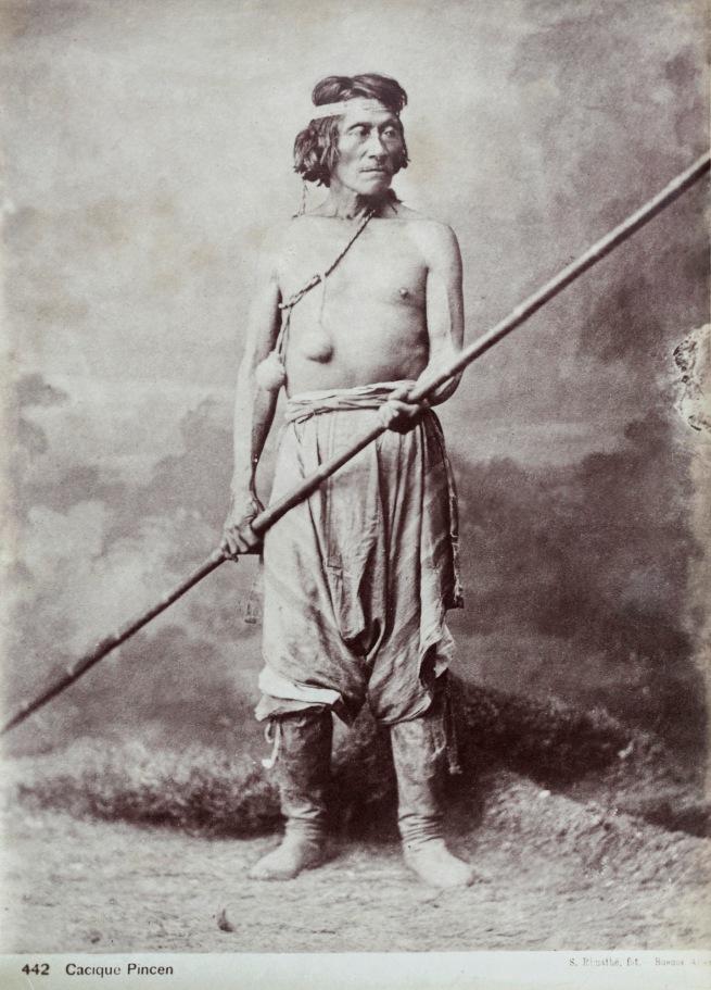 Antonio Pozzo (Argentine, born Italy, 1829-1910) 'Cacique Pincén' (Chief Pincén) 1878