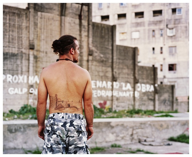 Gian Paolo Minelli (Swiss, born 1968) 'Luciano con tatuaje' / 'Luciano with Tatoo' 2009, printed 2016