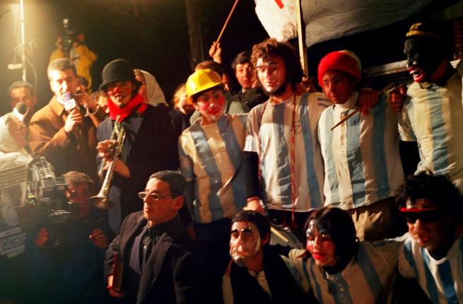 Grupo Etcétera... (Argentine, active since 1997) 'ARGENTINA VS. ARGENTINA. Escrache to General Galtieri' 1998