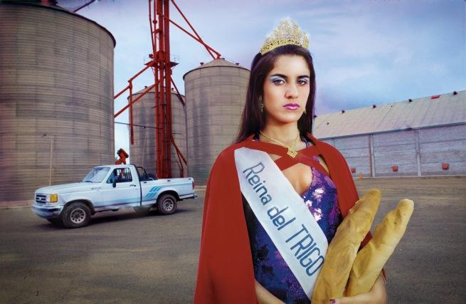 Marcos López (Argentine, born 1958) 'Reina del trigo. Gálvez, Provincia de Santa Fe' (Queen of Wheat, Gálvez, Santa Fe Province) 1997