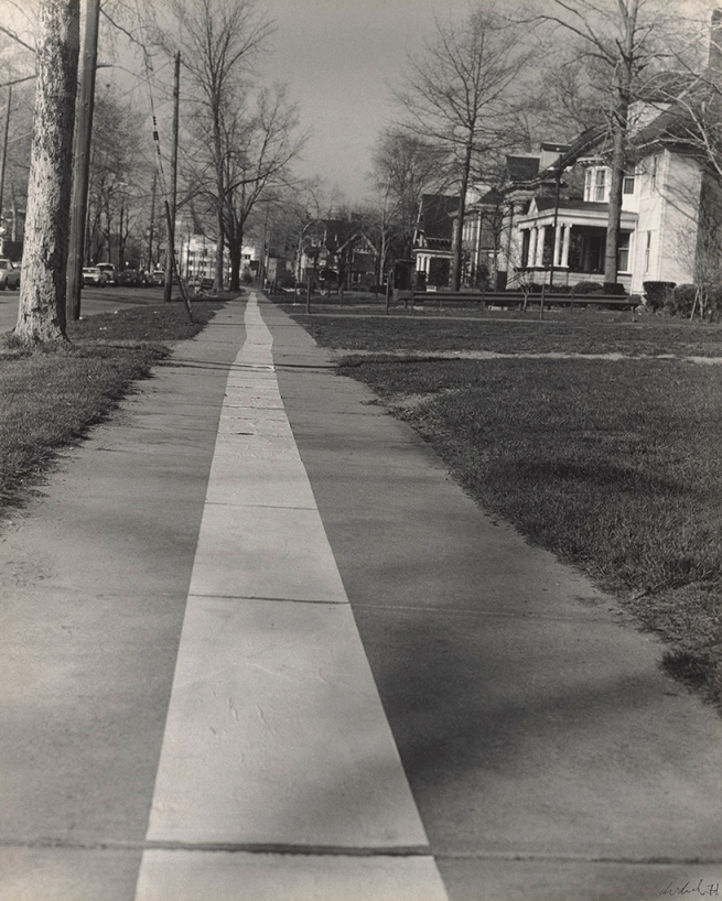 Jaime Davidovich. 'Tape Project: Sidewalk 1' 1971