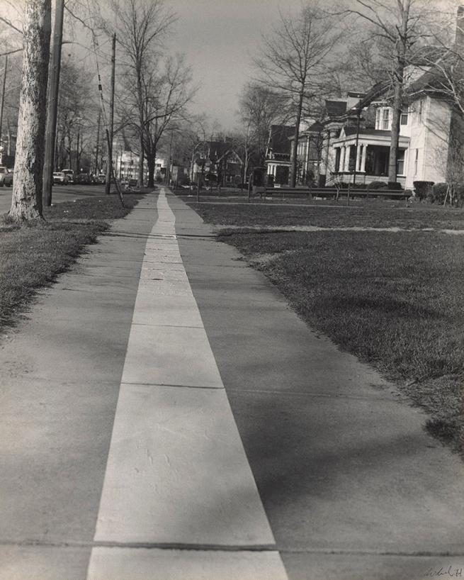 Jaime Davidovich. 'Tape Project: Sidewalk 1' 1971
