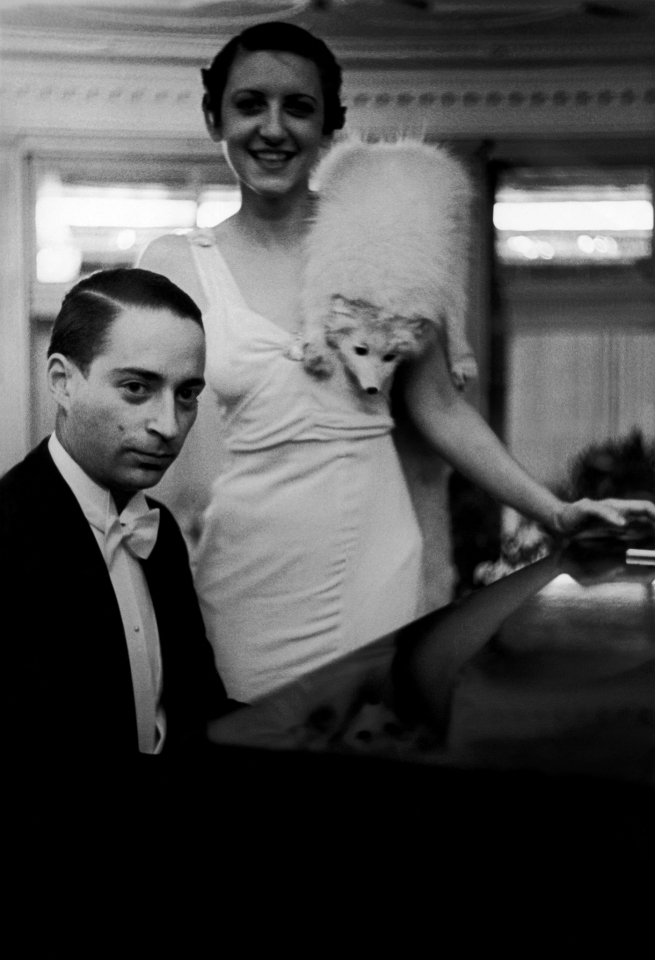 Jakob Tuggener(1904-1988) 'Ballo ungherese, Grand Hotel Dolder, Zurigo, 1935' [Hungarian dance, Grand Hotel Dolder, Zurich, 1935] 1935