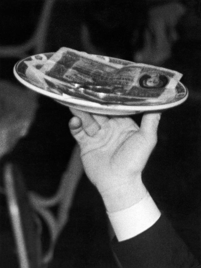 Jakob Tuggener(1904-1988) 'Hotel Belvédère, Davos, 1944' 1944