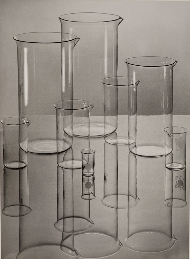 Albert Renger-Patzsch (1897-1966) 'Jenaer Glas(Zylindrische Gläser) [Jena glass (cylinders)]' 1934