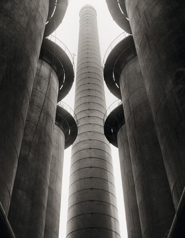 Albert Renger-Patzsch (1897-1966) 'Kauper, Hochofenwerk Herrenwyk, Lübeck [Cowper, blast furnace Herrenwyk, Lübeck]' 1927