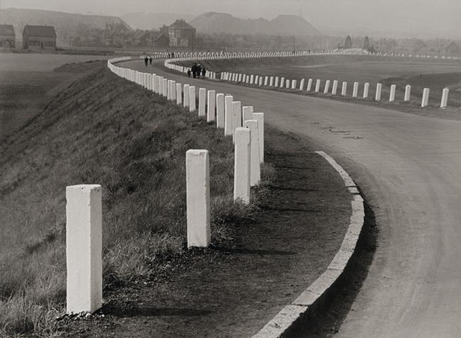 Albert Renger-Patzsch (1897-1966) 'Landstraße bei Essen [Countryroad near Essen]' 1929
