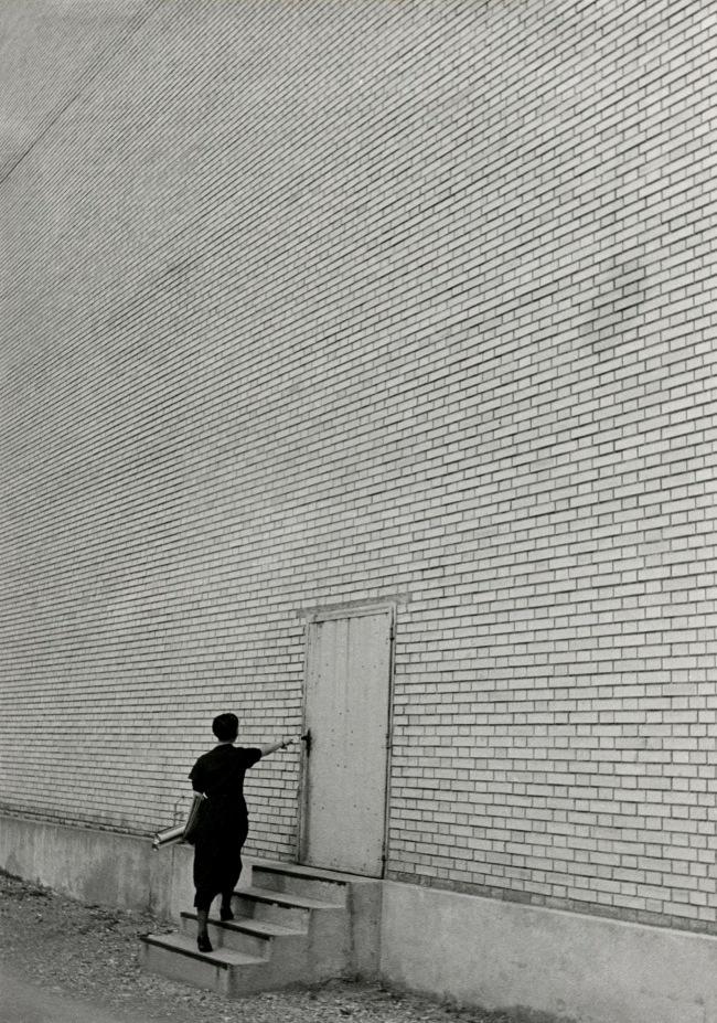 Jakob Tuggener(1904-1988) 'Façade, Oerlikon Machine Factory' 1936