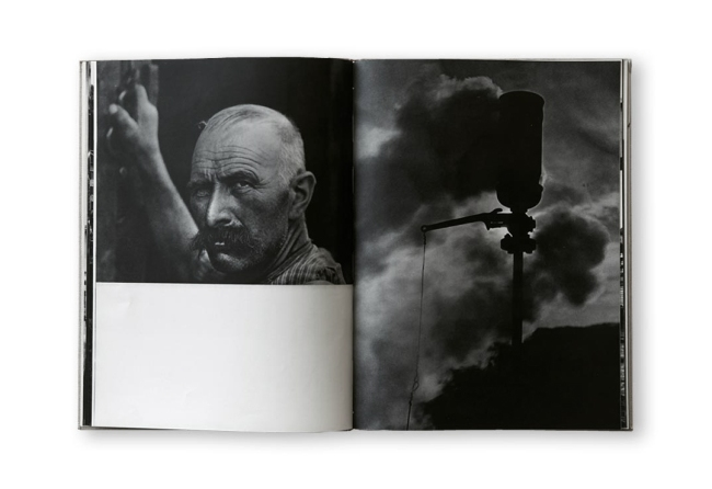 Jakob Tuggener(1904-1988) Page layout from the book 'Fabrik' 1943