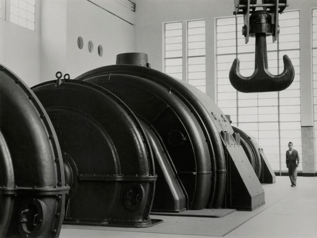 Jakob Tuggener(1904-1988) 'Grande Dixence power station' 1942